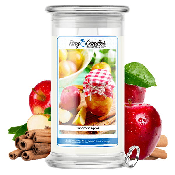 Cinnamon Apple Ring Candle