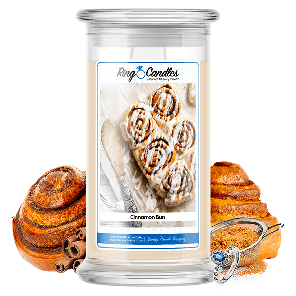 Cinnamon Bun Ring Candle