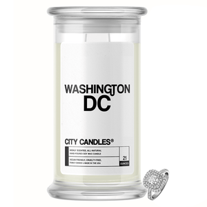 Washington DC City Jewelry Candle