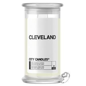 Cleveland | City Candle®-City Candles®-The Official Website of Jewelry Candles - Find Jewelry In Candles!
