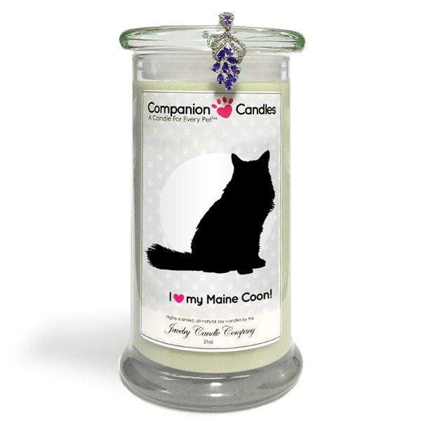 I Love My Maine Coon! - Companion Candles-Companion Candles-The Official Website of Jewelry Candles - Find Jewelry In Candles!