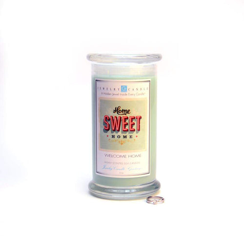 Home Sweet Home | Jewelry Greeting Candles-Home Sweet Home Jewelry Greeting Candle-The Official Website of Jewelry Candles - Find Jewelry In Candles!