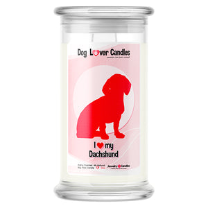 Dachshund Dog Lover Candle