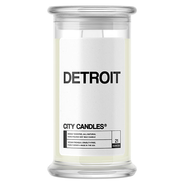 Detroit City Candle