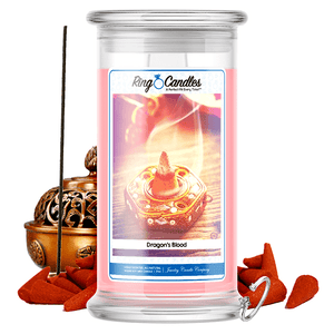 Dragon's Blood Ring Candle