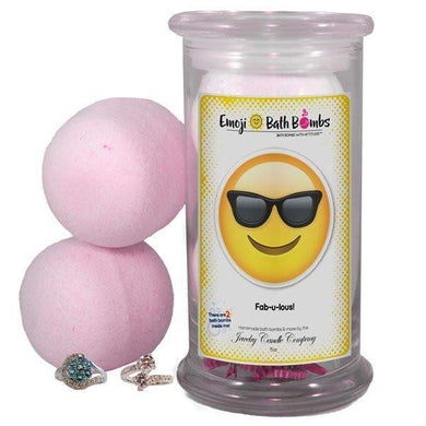 Fab-u-lous! Emoji Bath Bombs-Emoji Bath Bombs-The Official Website of Jewelry Candles - Find Jewelry In Candles!
