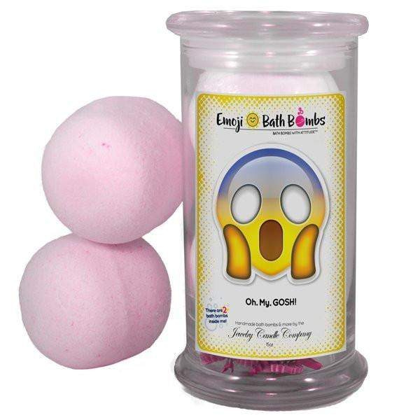 Oh. My. GOSH! Emoji Bath Bombs-Emoji Bath Bombs-The Official Website of Jewelry Candles - Find Jewelry In Candles!