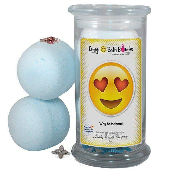 Why hello there! Emoji Bath Bombs-Emoji Bath Bombs-The Official Website of Jewelry Candles - Find Jewelry In Candles!
