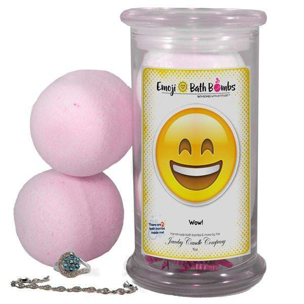 Wow! Emoji Bath Bombs-Emoji Bath Bombs-The Official Website of Jewelry Candles - Find Jewelry In Candles!