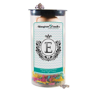 Letter E | Monogram Bath Bombs-Jewelry Bath Bombs-The Official Website of Jewelry Candles - Find Jewelry In Candles!