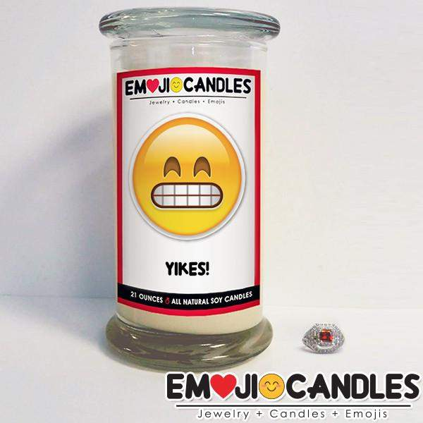 Yikes! - Emoji Candles-Emoji Candles-The Official Website of Jewelry Candles - Find Jewelry In Candles!