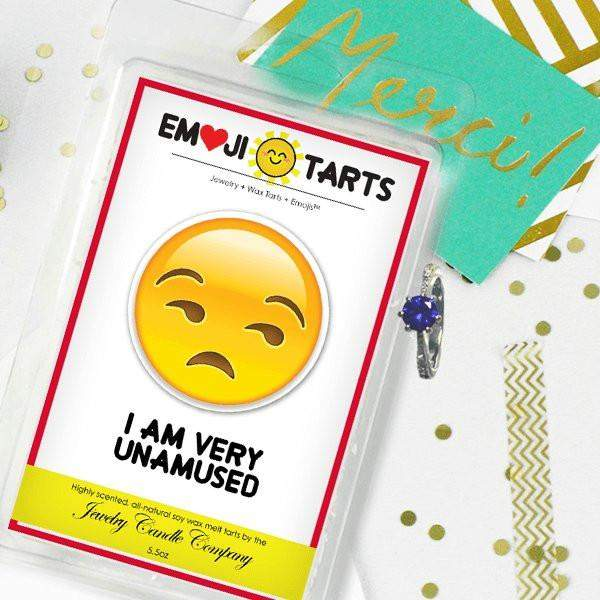I Am Very Unamused Emoji Tarts-Tarts-The Official Website of Jewelry Candles - Find Jewelry In Candles!