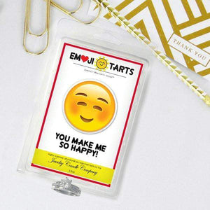 You Make Me So Happy! Emoji Tarts-Tarts-The Official Website of Jewelry Candles - Find Jewelry In Candles!