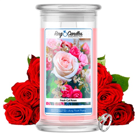 Fresh Cut Roses Ring Candle®