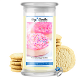 Fresh Baked Sugar Cookies Ring Candle