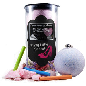Flirty Little Secret | Jewelry Chalkboard Bath Bombs-Chalkboard Bath Bombs-The Official Website of Jewelry Candles - Find Jewelry In Candles!
