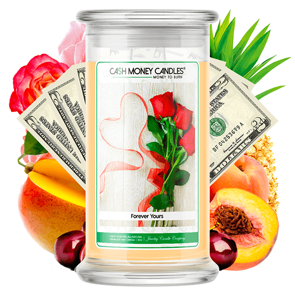 Forever Yours Cash Money Candle