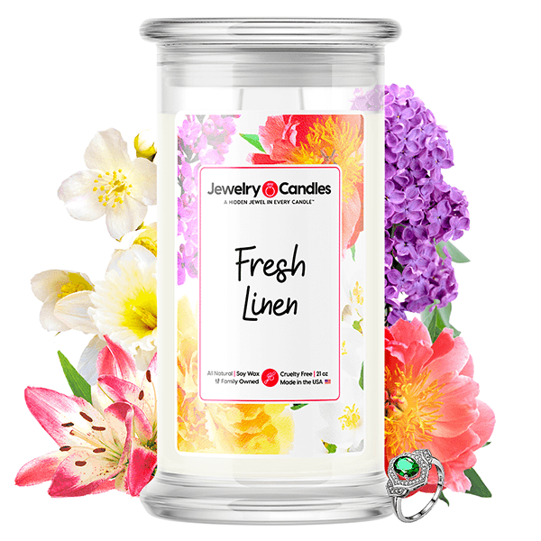 Fresh Linen | Jewelry Candle®