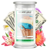 Fresh Linen Cash Money Candle