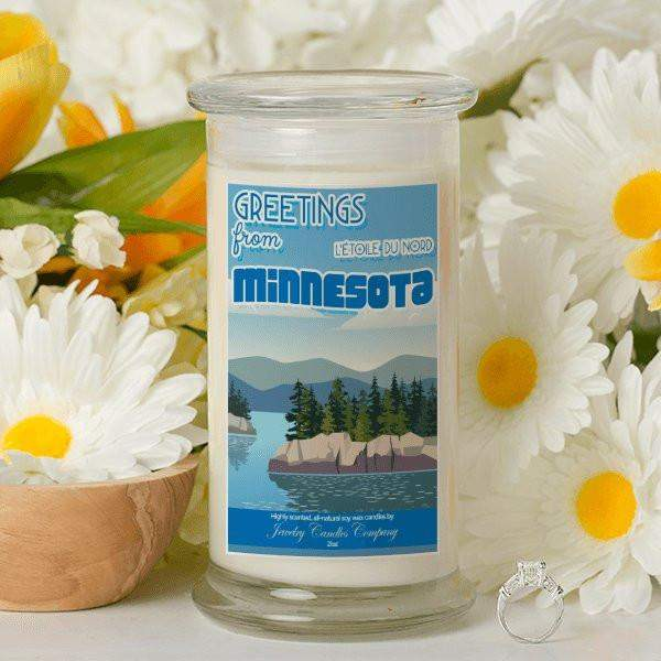 Greetings From Minnesota - Greetings From Candles-Greetings From Candles-The Official Website of Jewelry Candles - Find Jewelry In Candles!
