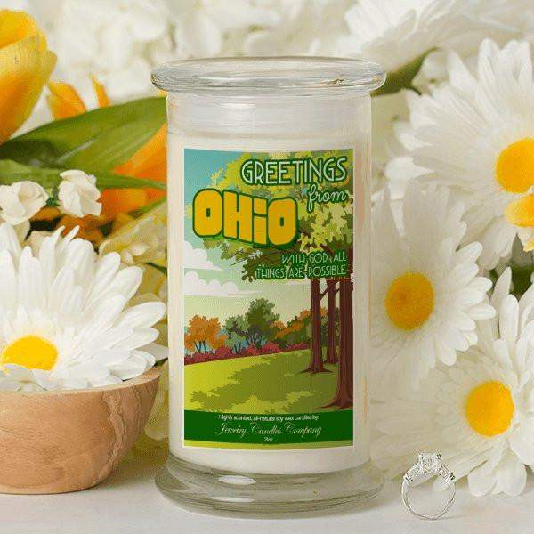 Greetings From Ohio - Greetings From Candles-Greetings From Candles-The Official Website of Jewelry Candles - Find Jewelry In Candles!