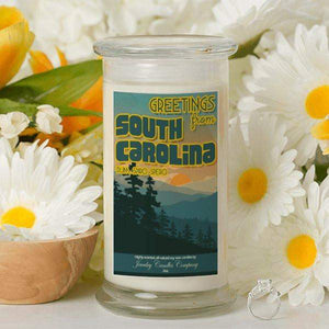 Greetings From South Carolina - Greetings From Candles-Greetings From Candles-The Official Website of Jewelry Candles - Find Jewelry In Candles!