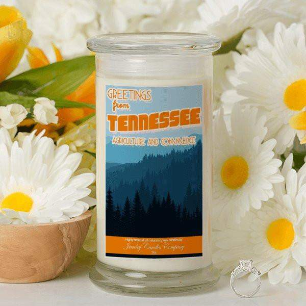 Greetings From Tennessee - Greetings From Candles-Greetings From Candles-The Official Website of Jewelry Candles - Find Jewelry In Candles!