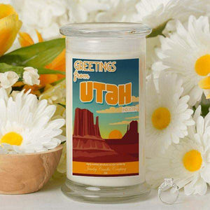Greetings From Utah - Greetings From Candles-Greetings From Candles-The Official Website of Jewelry Candles - Find Jewelry In Candles!