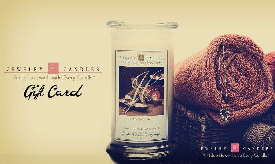 $10 Gift Card-Gift Card-The Official Website of Jewelry Candles - Find Jewelry In Candles!