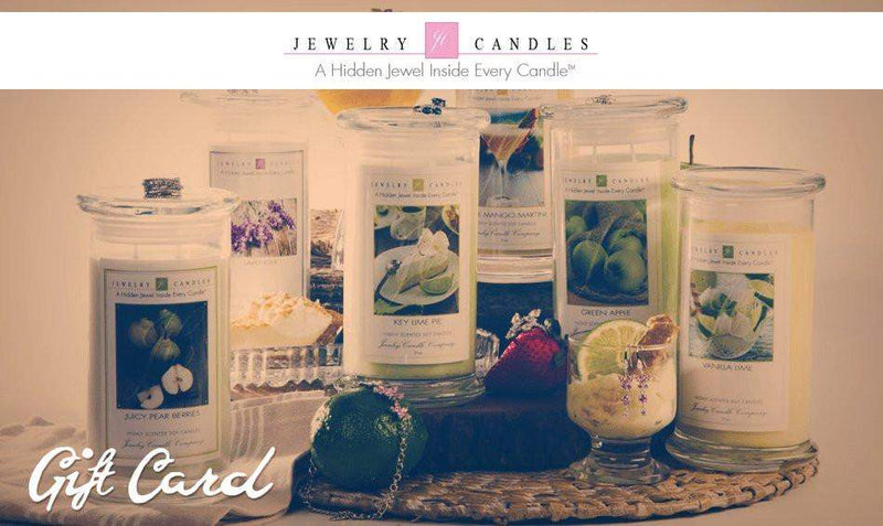 $25 Gift Card-Gift Card-The Official Website of Jewelry Candles - Find Jewelry In Candles!