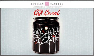 $20 Gift Card-Gift Card-The Official Website of Jewelry Candles - Find Jewelry In Candles!