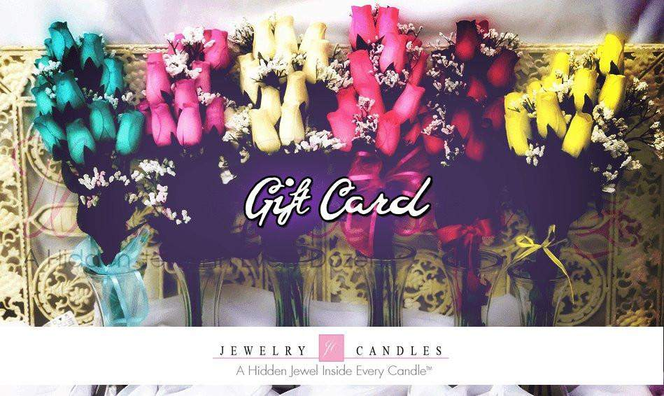 $500 Gift Card-Gift Card-The Official Website of Jewelry Candles - Find Jewelry In Candles!