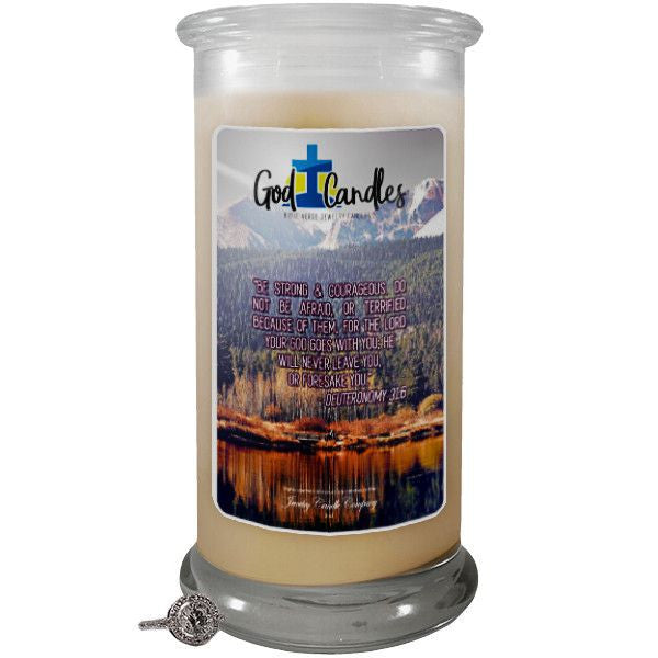 Deuteronomy 3:16 Verse God Candle-God Candle | Bible Verse Jewelry Candles™-The Official Website of Jewelry Candles - Find Jewelry In Candles!