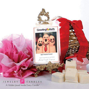 Best Friends Forever - Greeting Melt-Greeting Tarts-The Official Website of Jewelry Candles - Find Jewelry In Candles!