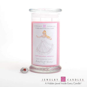 Happy Birthday Princess | Jewelry Greeting Candles-Happy Birthday Princess Jewelry Greeting Candle-The Official Website of Jewelry Candles - Find Jewelry In Candles!