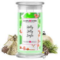 Holly Jolly Jingle Jewelry Candle