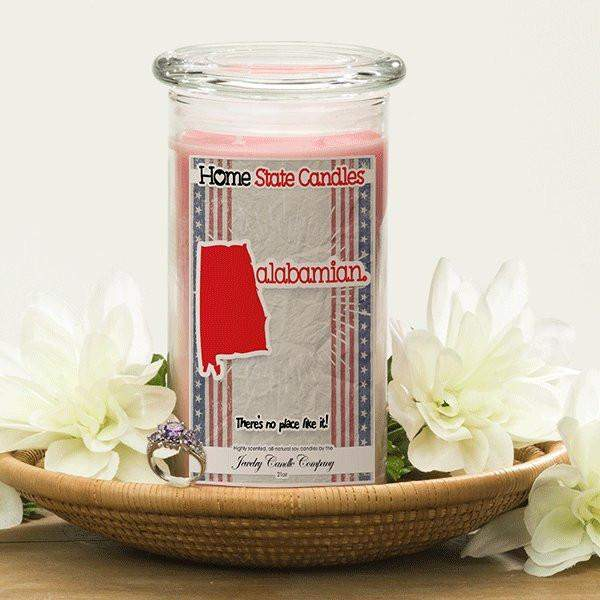 Home State Demonyms Jewelry Candles - Alabamian-Home State Demonyms Jewelry Candles-The Official Website of Jewelry Candles - Find Jewelry In Candles!