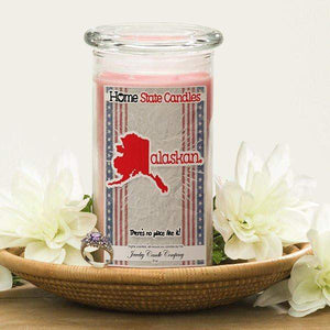 Alaskan | Home State Demonym Candle®-Home State Demonyms Jewelry Candles-The Official Website of Jewelry Candles - Find Jewelry In Candles!