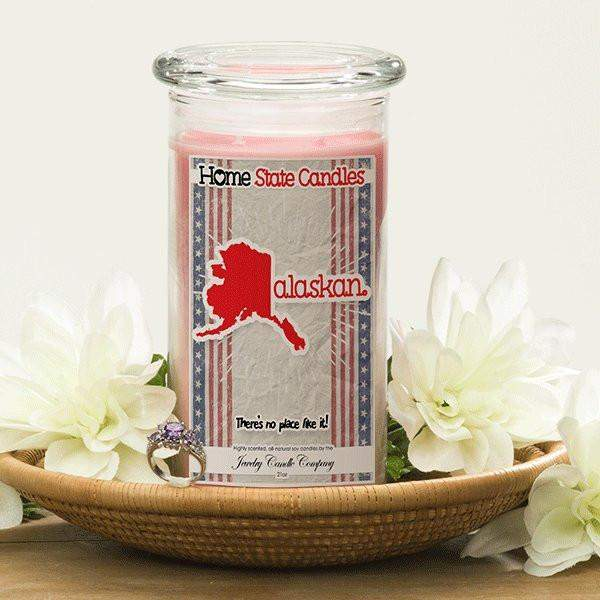 Home State Demonyms Jewelry Candles - Alaskan-Home State Demonyms Jewelry Candles-The Official Website of Jewelry Candles - Find Jewelry In Candles!