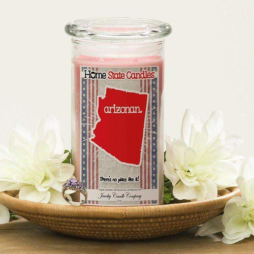 Arizonan | Home State Demonym Candle®-Home State Demonyms Jewelry Candles-The Official Website of Jewelry Candles - Find Jewelry In Candles!