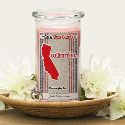 Californian | Home State Demonym Candle®-Home State Demonyms Jewelry Candles-The Official Website of Jewelry Candles - Find Jewelry In Candles!