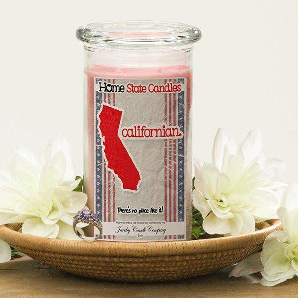 Home State Demonyms Jewelry Candles - Californian-Home State Demonyms Jewelry Candles-The Official Website of Jewelry Candles - Find Jewelry In Candles!
