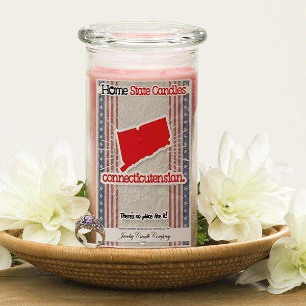 Home State Demonyms Jewelry Candles - Connecticutensian-Home State Demonyms Jewelry Candles-The Official Website of Jewelry Candles - Find Jewelry In Candles!