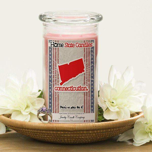 Home State Demonyms Jewelry Candles - Connecticutian-Home State Demonyms Jewelry Candles-The Official Website of Jewelry Candles - Find Jewelry In Candles!