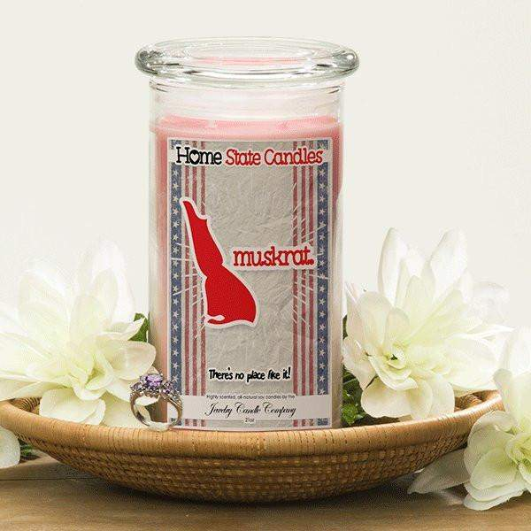 Home State Demonyms Jewelry Candles - Muskrat-Home State Demonyms Jewelry Candles-The Official Website of Jewelry Candles - Find Jewelry In Candles!