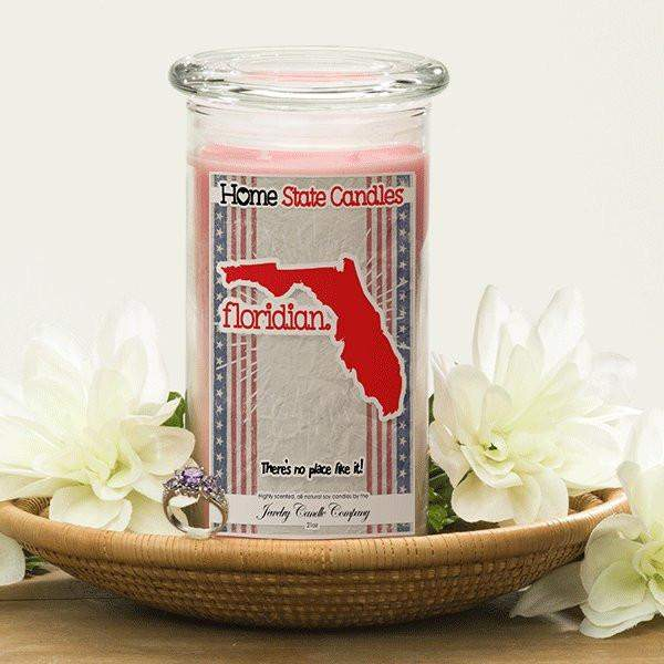 Home State Demonyms Jewelry Candles - Floridian-Home State Demonyms Jewelry Candles-The Official Website of Jewelry Candles - Find Jewelry In Candles!