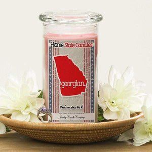 Georgian | Home State Demonym Candle®-Home State Demonyms Jewelry Candles-The Official Website of Jewelry Candles - Find Jewelry In Candles!