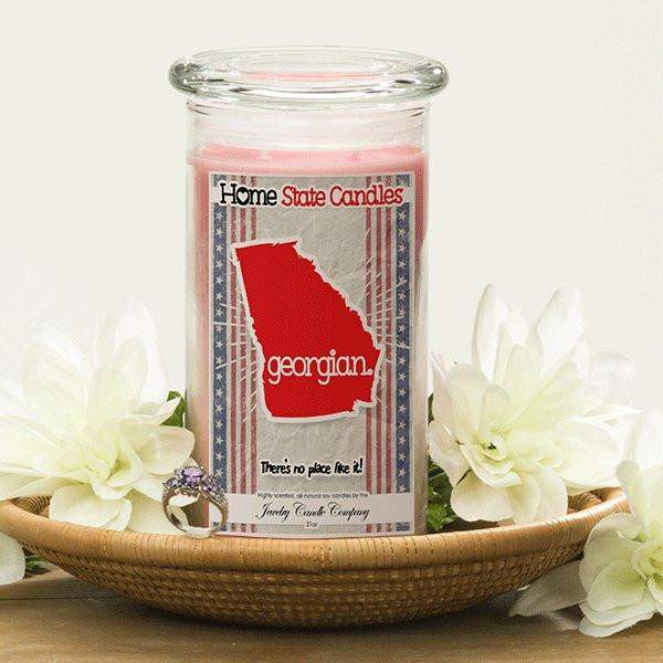 Home State Demonyms Jewelry Candles - Georgian-Home State Demonyms Jewelry Candles-The Official Website of Jewelry Candles - Find Jewelry In Candles!