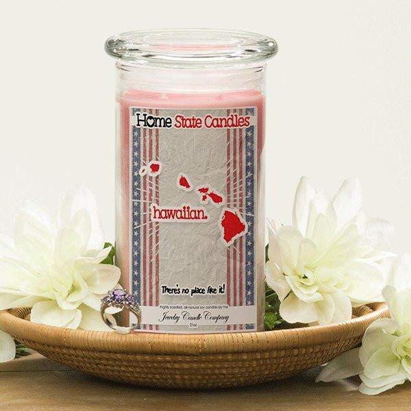 Home State Demonyms Jewelry Candles - Hawaiian-Home State Demonyms Jewelry Candles-The Official Website of Jewelry Candles - Find Jewelry In Candles!