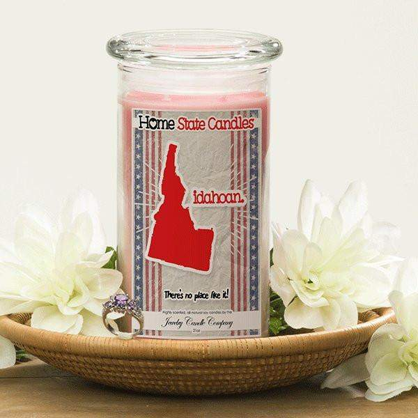 Idahoan | Home State Demonym Candle®-Home State Demonyms Jewelry Candles-The Official Website of Jewelry Candles - Find Jewelry In Candles!